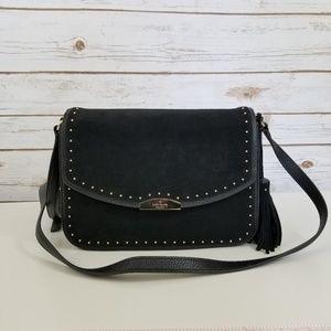 Kate Spade | Georgia Leather Studded Black Purse